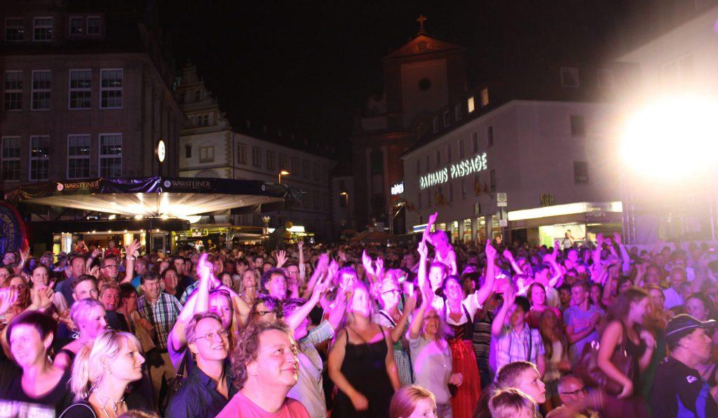 Bayrischer Show-Act zum Libori Fest in Paderborn / Ostwestfalen